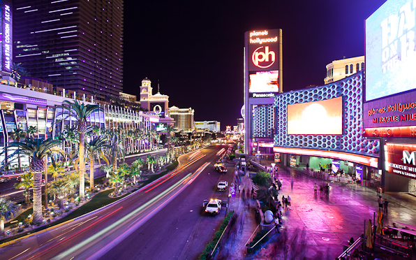 Timelapse lasvegas strip planethollywood 000401